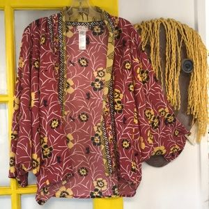 Free People Kimono OS